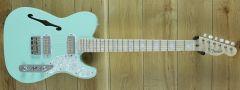 Fender  Parallel Universe II Tele Mágico, Maple Fingerboard, Transparent Surf Green