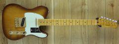 Fender 75th Anniversary Commemorative Telecaster®, Maple Fingerboard, 2-Color Bourbon Burst